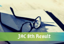 JAC 8th Result 2020