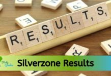 Silverzone results 2020