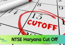 NTSE Haryana Cut off 2020