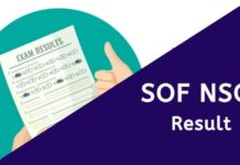 SOF NSO Result 2020