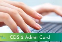 CDS 2 admit card 2021