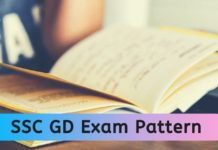 SSC GD Constable Exam Pattern 2020