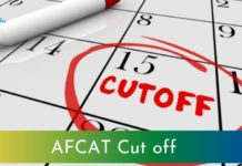 AFCAT Cut off 2020