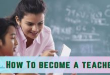 how to become a teacher in india